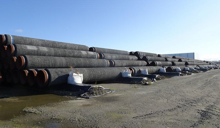"""Lietuvos forminas ragina sustabdyti """"Nord Stream 2"""" iki Rusijos rinkimų"""